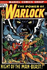 Cover Thumbnail for Warlock (Marvel, 1972 series) #1