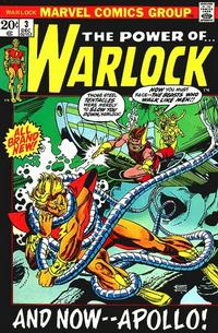 Cover Thumbnail for Warlock (Marvel, 1972 series) #3