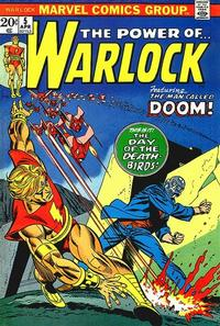 Cover Thumbnail for Warlock (Marvel, 1972 series) #5