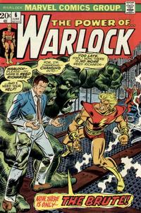 Cover Thumbnail for Warlock (Marvel, 1972 series) #6