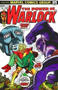 Cover Thumbnail for Warlock (Marvel, 1972 series) #7