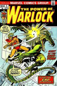 Cover Thumbnail for Warlock (Marvel, 1972 series) #8