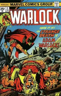 Cover Thumbnail for Warlock (Marvel, 1972 series) #11