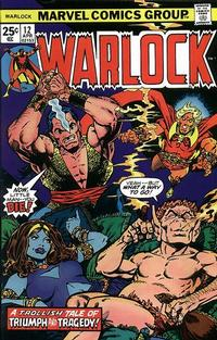 Cover Thumbnail for Warlock (Marvel, 1972 series) #12 [25¢]