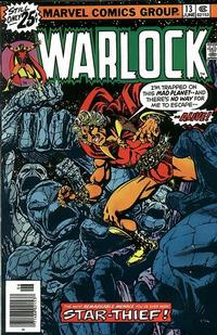 Cover Thumbnail for Warlock (Marvel, 1972 series) #13 [Regular Edition]