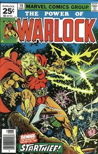 Cover Thumbnail for Warlock (Marvel, 1972 series) #14