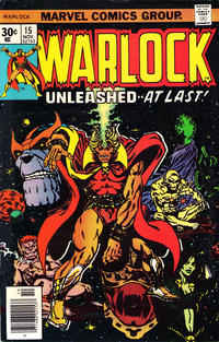 Cover Thumbnail for Warlock (Marvel, 1972 series) #15