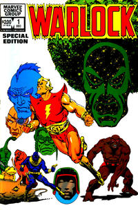 Cover for Warlock (Marvel, 1982 series) #1