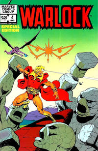 Cover Thumbnail for Warlock (Marvel, 1982 series) #4