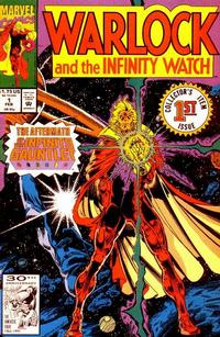 Cover Thumbnail for Warlock and the Infinity Watch (Marvel, 1992 series) #1 [Direct Edition]