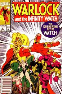 Cover Thumbnail for Warlock and the Infinity Watch (Marvel, 1992 series) #2 [Newsstand]