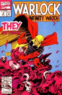 Cover Thumbnail for Warlock and the Infinity Watch (Marvel, 1992 series) #4
