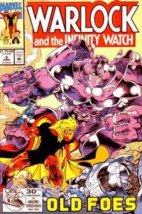 Cover Thumbnail for Warlock and the Infinity Watch (Marvel, 1992 series) #5