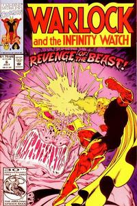 Cover Thumbnail for Warlock and the Infinity Watch (Marvel, 1992 series) #6