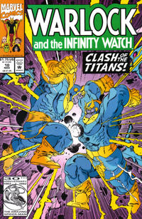 Cover Thumbnail for Warlock and the Infinity Watch (Marvel, 1992 series) #10