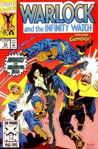 Cover Thumbnail for Warlock and the Infinity Watch (Marvel, 1992 series) #14