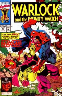 Cover Thumbnail for Warlock and the Infinity Watch (Marvel, 1992 series) #17