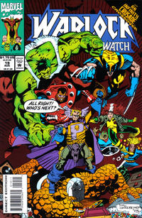 Cover Thumbnail for Warlock and the Infinity Watch (Marvel, 1992 series) #19