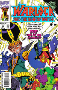 Cover Thumbnail for Warlock and the Infinity Watch (Marvel, 1992 series) #20