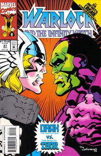 Cover Thumbnail for Warlock and the Infinity Watch (Marvel, 1992 series) #21