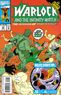 Cover Thumbnail for Warlock and the Infinity Watch (Marvel, 1992 series) #22