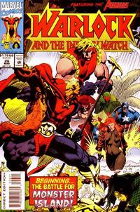 Cover Thumbnail for Warlock and the Infinity Watch (Marvel, 1992 series) #26