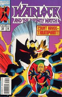 Cover Thumbnail for Warlock and the Infinity Watch (Marvel, 1992 series) #33
