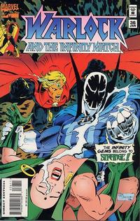 Cover Thumbnail for Warlock and the Infinity Watch (Marvel, 1992 series) #36