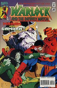 Cover Thumbnail for Warlock and the Infinity Watch (Marvel, 1992 series) #40