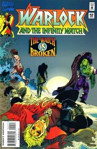 Cover Thumbnail for Warlock and the Infinity Watch (Marvel, 1992 series) #42