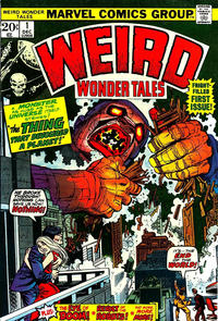 Cover Thumbnail for Weird Wonder Tales (Marvel, 1973 series) #1