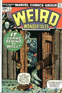 Cover Thumbnail for Weird Wonder Tales (Marvel, 1973 series) #4