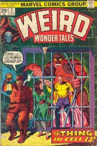 Cover Thumbnail for Weird Wonder Tales (Marvel, 1973 series) #5