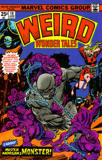 Cover Thumbnail for Weird Wonder Tales (Marvel, 1973 series) #10