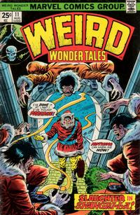 Cover Thumbnail for Weird Wonder Tales (Marvel, 1973 series) #11