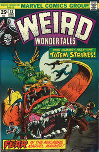Cover Thumbnail for Weird Wonder Tales (Marvel, 1973 series) #13