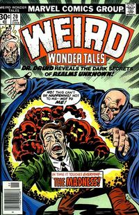 Cover Thumbnail for Weird Wonder Tales (Marvel, 1973 series) #20