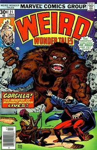 Cover Thumbnail for Weird Wonder Tales (Marvel, 1973 series) #21