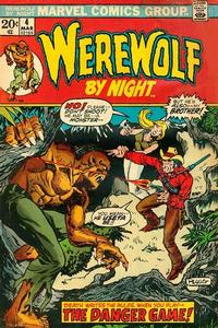 Cover Thumbnail for Werewolf by Night (Marvel, 1972 series) #4