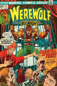 Cover Thumbnail for Werewolf by Night (Marvel, 1972 series) #6