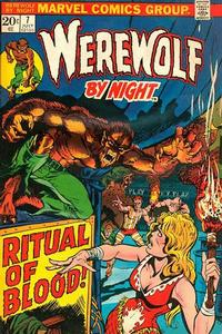 Cover Thumbnail for Werewolf by Night (Marvel, 1972 series) #7