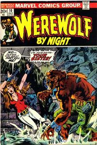Cover Thumbnail for Werewolf by Night (Marvel, 1972 series) #10