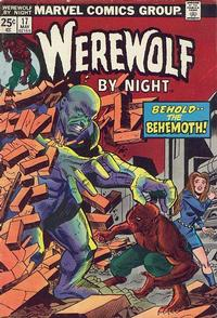 Cover Thumbnail for Werewolf by Night (Marvel, 1972 series) #17