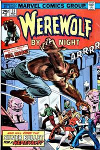 Cover Thumbnail for Werewolf by Night (Marvel, 1972 series) #23