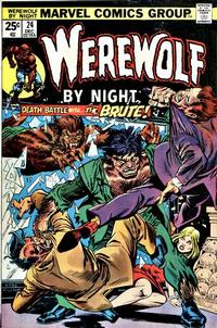 Cover Thumbnail for Werewolf by Night (Marvel, 1972 series) #24