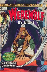 Cover Thumbnail for Werewolf by Night (Marvel, 1972 series) #26