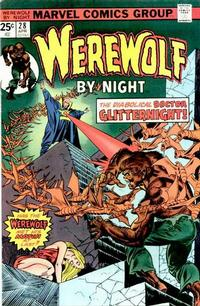 Cover Thumbnail for Werewolf by Night (Marvel, 1972 series) #28