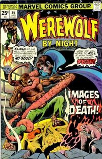 Cover Thumbnail for Werewolf by Night (Marvel, 1972 series) #36