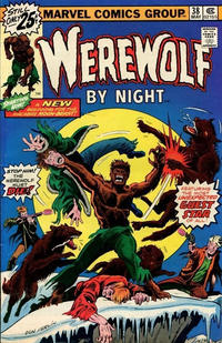 Cover Thumbnail for Werewolf by Night (Marvel, 1972 series) #38 [25¢ Cover Price]