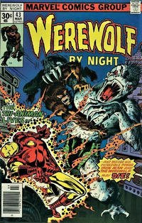 Cover Thumbnail for Werewolf by Night (Marvel, 1972 series) #43